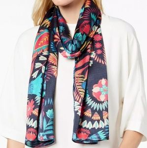 New Echo Floral Paisley Scarf -retail  $39